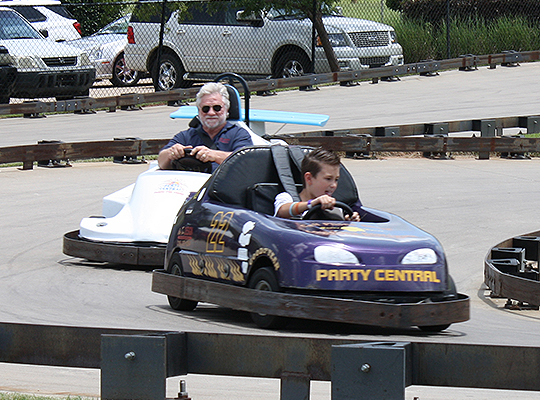 Go Karts at Party Central in Bossier City, LA